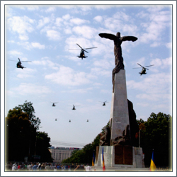 Flyer Statue